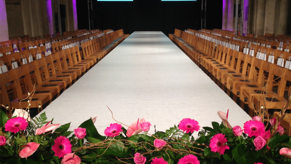 Catwalk Hire 6 with carpet